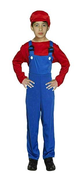 Abz Fashionz - Disfraz de Super Mario para niños: Amazon.es: Ropa ...
