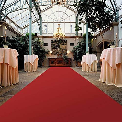 Burgund Wein-Rot Hochzeitsl/äufer PODIUM Empfangsteppich Hochzeitsteppich Eventteppich 1,00m x 15,00m VIP Event-Teppich-L/äufer Teppichboden f/ür Messe /& Event