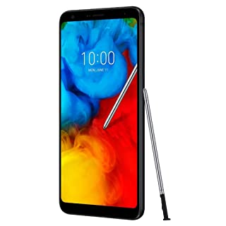 "LG Q Stylo+ Plus 6.2"" FHD+ Display, IP68 Water Resistant, Canada + Global 4G LTE Single SIM GSM Factory Unlocked LM-Q710FA - International Model (Black)"