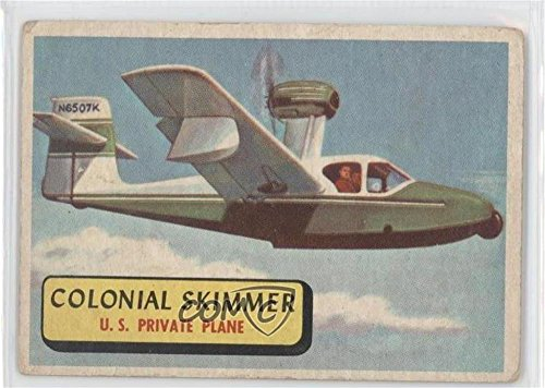 Colonial Skimmer COMC REVIEWED Good to VG-EX (Trading Card) 1957 Topps Planes of the World - [Base] - Blue Back (Skimmer Base)