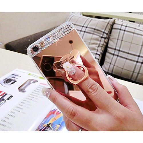 Gel Fairy Per A7 Samsung 2017 Protezione Cover Custodia Silicone Case Fata Tpu Sycode Trasparente Rosa lusso Glitter Blu Galaxy Morbida UTWOqnwS