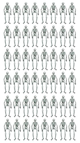 Beistle S01084AZ24 48 Piece) Jointed Skeletons 22