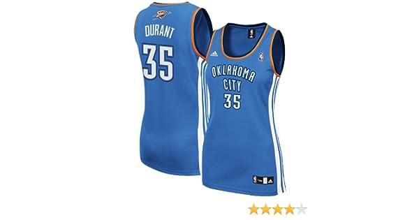 ca87f93d4 Amazon.com   NBA adidas Kevin Durant Oklahoma City Thunder Women s Replica  Jersey - Light Blue   Sports Fan Jerseys   Clothing
