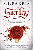 Sacrilege by S. J. Parris front cover