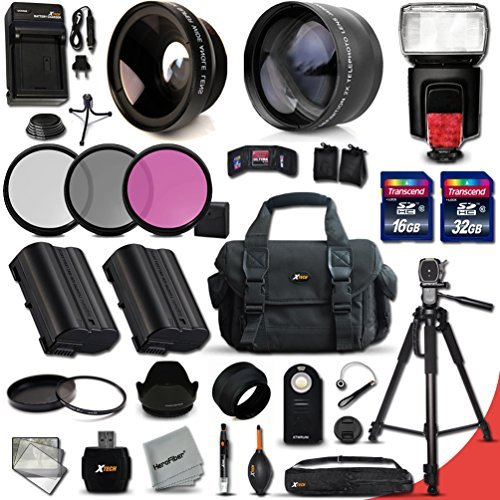 PROFESSIONAL 34 Piece 58MM Accessory Kit for Nikon for sale  Delivered anywhere in Canada