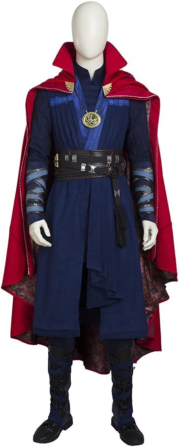 QWEASZER Marvel Avengers Doctor Strange Superhero Cosplay Disfraz ...
