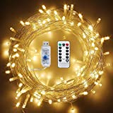 Best Fairy Lights For Christmas Trees - USB LED String Lights 72ft 200 LEDs Review