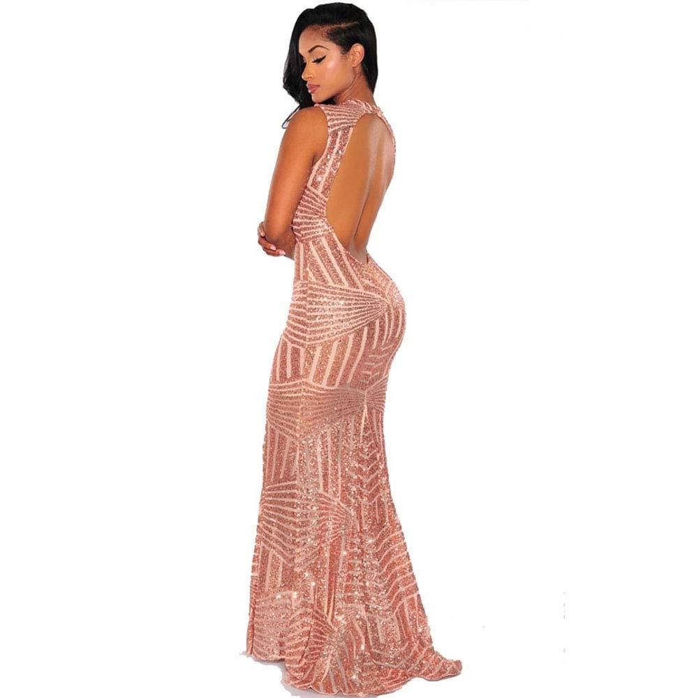 Carolina Dress Vestidos Largos De Mujer Sexys Dorados Ropa ...