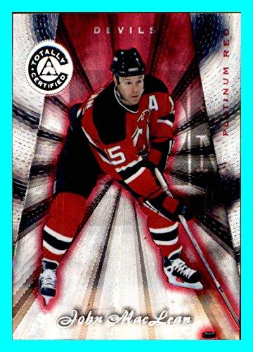 1997-98 Pinnacle Totally Certified Platinum RED #91 John MacLean NEW JERSEY DEVILS SERIAL #3610/6199 NHL Network -