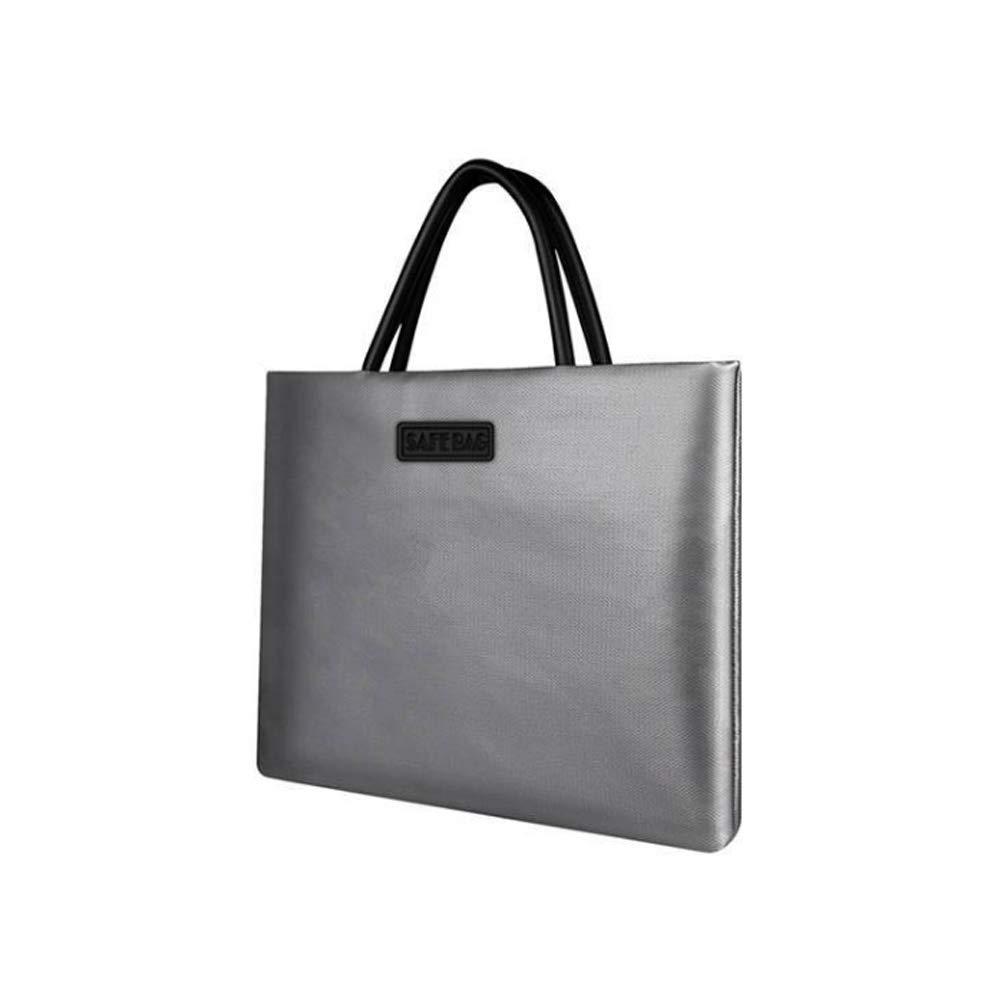 Frjjthchy Foldable Document Bags Fireproof Bag for Money Passport