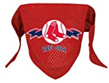 Boston Red Sox Pet Dog Baseball Jersey Bandana S/M
