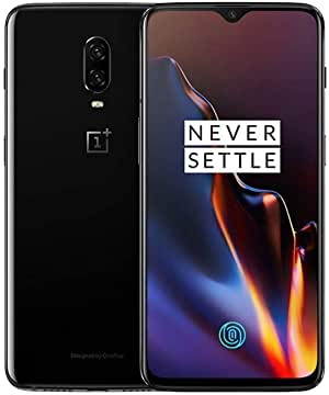 OnePlus 6T 128GB (A6013) Android Smartphone for T-Mobile - Mirror Black (Renewed)