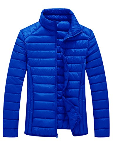 e Packable Down Jacket Light Weight(Sapphire Blue,US Size S) (Flash Down Jacket)