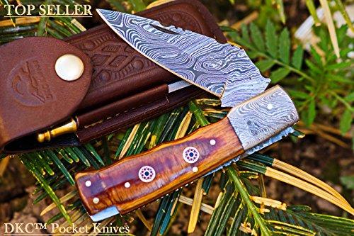 DKC-35-STALLION-Damascus-45-Folded-8-Open-68-oz-Pocket-Folding-Knife-DKC-Knives–Hand-Made-Incredible-Look-and-Feel