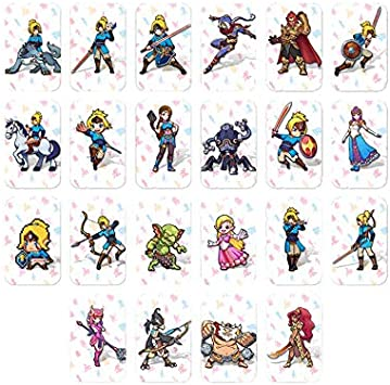 Juego de 22 Tarjetas para Legend of Zelda: Breath of The Wild ...