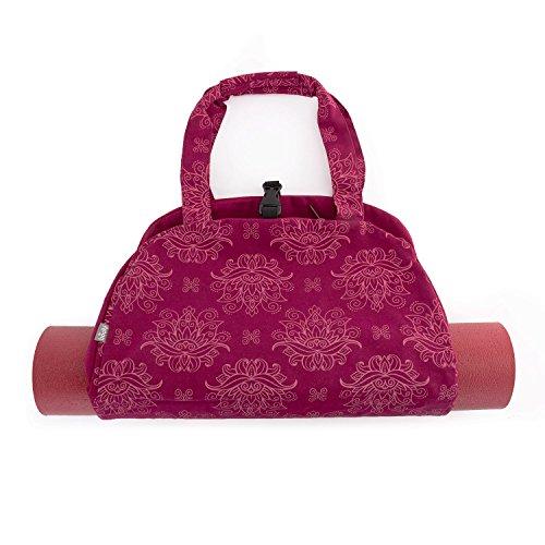 Bodhi Yoga-Tasche NAMASTÈ Bag Maharaja Collection, leichte Yogatasche im schönen Handtaschen-Look