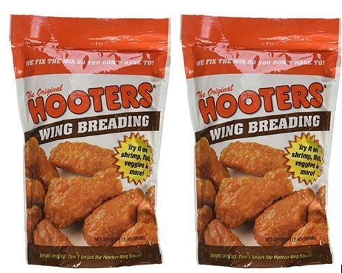 - Hooters Wing breading, 16 oz (Pack of 2)