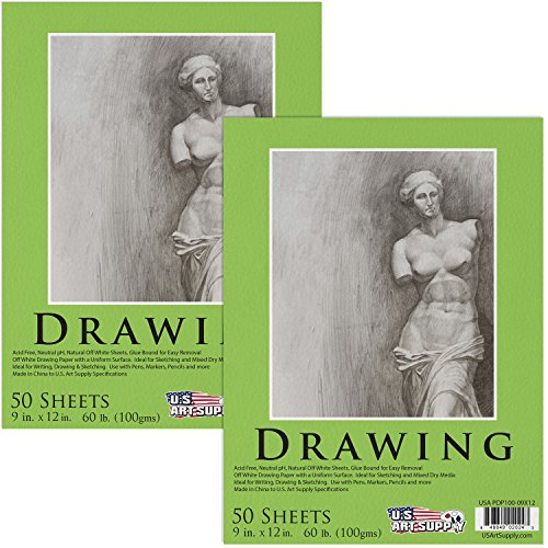 Art Supply Premium Drawing 50 Sheets