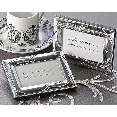 double ring romance mini frame place card holder wedding and bridal shower favor guest keepsake gift bulk buy sale - Mini Picture Frames Bulk