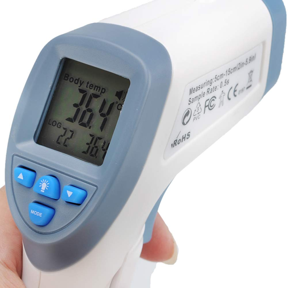 FairOnly Infrared Non Contact Body Thermometer LCD Display Store 32 Readings Electronics