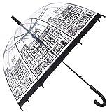 HAOCOO Street Clear Umbrella,Bubble Image