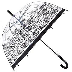 Street Clear Umbrella,Bubble