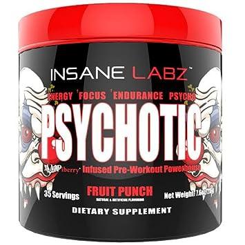 Buy Insane Labz Psychotic Infused Preworkout Powerhouse Fruit Punch