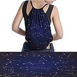 """warmfamily Waterproof Backpack Doodle Chalk Written Like Set Zodiac CLU 11.8""""x15.3"""""""