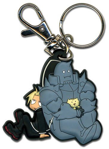 Great Eastern Entertainment FMA Brotherhood Ed Al Kitty PVC - Full Keychain Metal Alchemist