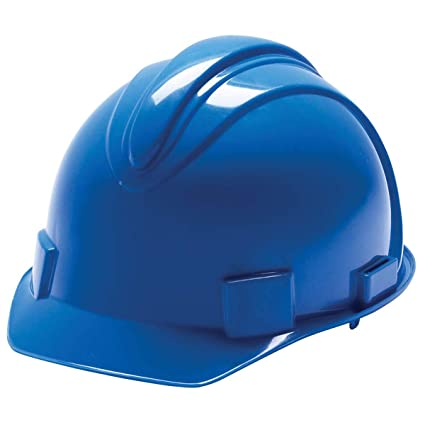 f95b9c147cc Kimberly-Clark Professional Blue Jackson Safety Charger HDPE Cap Style  Slotted Hard Hat With 4 Point Ratchet Suspension - 480 Each Pallet - -  Amazon.com
