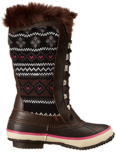 Chief Snow Women's Knit Chocolate Speed Boot Lace Western dnXxSTWqd
