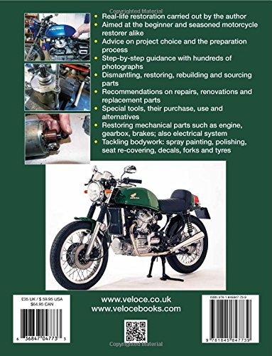 How to restore Honda CX500 & CX650: YOUR step-by-step colour illustrated guide to complete restoration (Enthusiasts Restoration Manual): Ricky Burns: ...