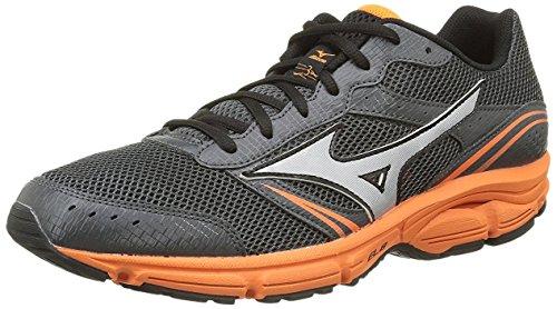 Mizuno Hardloopschoenen Heren Sneaker Wave Impetus 3 Grijs Oranje