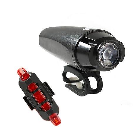 Luz Luces Led Para Bici Bicicleta Delantera Trasera laser Ciclismo Moto