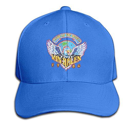 Mens Or Youth Hats Van Halen Tour Of World 1984 RoyalBlue Peak Starter Snapbacks Cap (Yankees Starter Jacket compare prices)