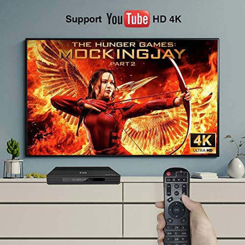 A95X Android 9.0 TV Box 4GB RAM 64GB ROM Quad Core Cortex-A53 CPU 2.4G / 5G Dual WiFI USB 3.0/BT Support HDMI 2.1 3D 4K HD Smart TV Box