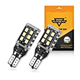 Auxbeam T15 Led Light Bulb 921 LED Bulb W16W 800LM HID White for Backup Reverse Lights (Pack of 2) Upgrade - 1 Year Warranty