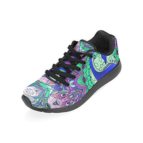 D-story Jogging Running Sneaker Mujeres Casual Comfort Deportes Zapatos Para Correr Walking Multi17