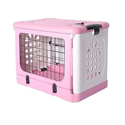 MIAOLIDP Jaula Plegable para Perros con Jaula para Gatos con Jaula para Mascotas Suministros de Mascotas (Color : Brown): Amazon.es: Hogar