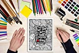 A Swear Word Coloring Book for Adults: Eat A Bag of