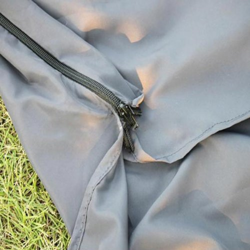 Foocc Silk Single Liner Sleeping Bag Camping Travel Mini Sleeping Bag (Grey)