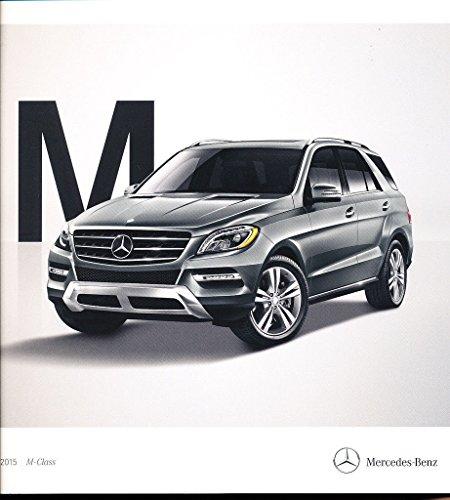 Mercedes Ml63 Amg (2015 Mercedes Benz M-Class 32-page Car Brochure - ML250 ML350 ML400 ML63)