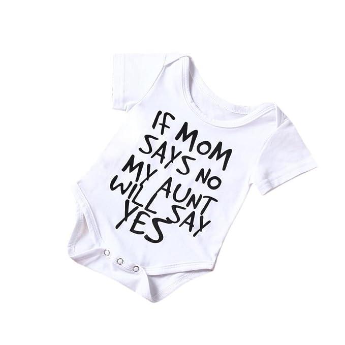 Amazon.com: iuhan recién nacido bebé niño Niña de Algodón ...