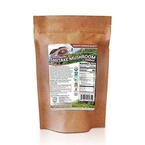 - Organic Shiitake Mushroom Powder 100g