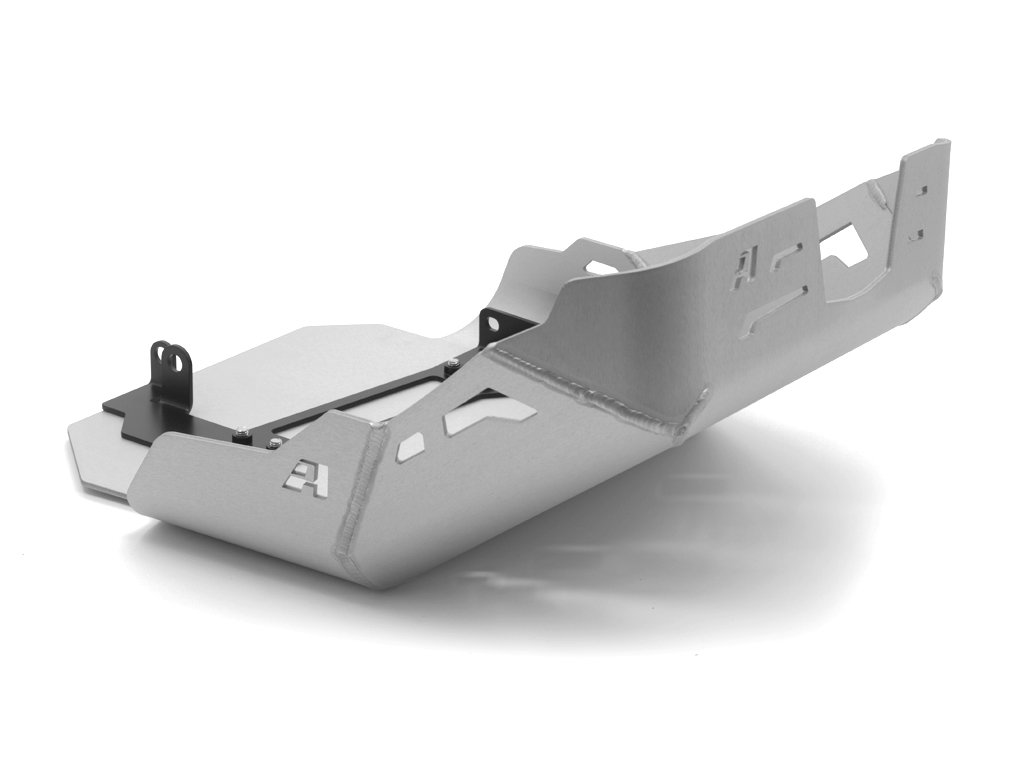 AltRider AT16-2-1202 Skid Plate with Extension for the Honda CRF1000L Africa Twin - Black