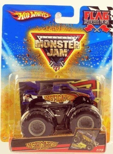 2010-hot-wheels-monster-jam-7-75-instigator-flag-series-164-scale-collectible-truck-small
