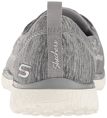 Microburst Baskets Skechers Topnotch Femme Enfiler Grey qwAAE
