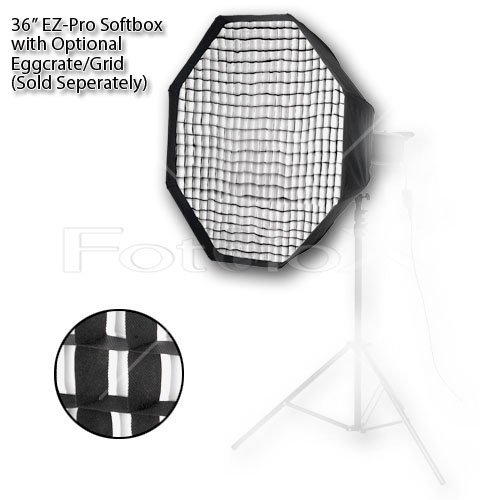 Pro Studio Solutions EZ-Pro 36'' (90cm) Octagon Softbox with Speedring for Bowens Gemini Standard, Classica Powerpack, R, RX & Pro Series Studio Flash Units by Fotodiox