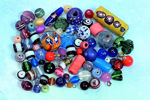 Glass Quality Loose Craft Beads - 9