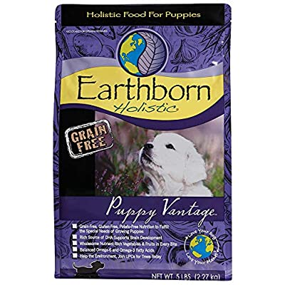 Earthborn Holistic Puppy Vantage Grain Free Dry Dog Food, 5 Lb.